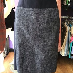 The Limited Denim Look Pencil Skirt Size 4